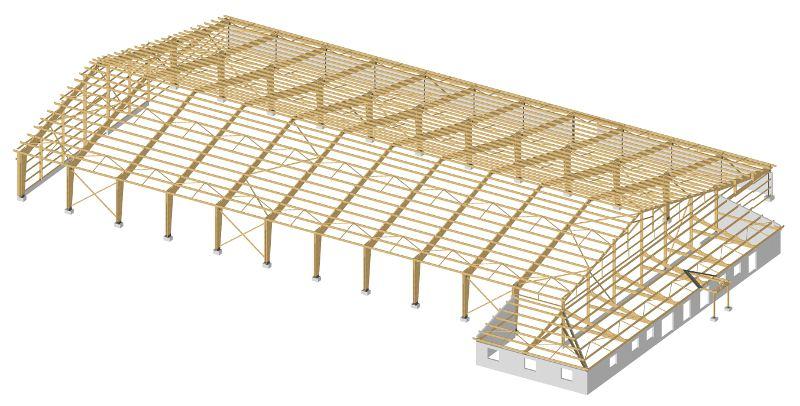 man ge constructions bois emg charpente bois lamell coll ossature et bardage bois. Black Bedroom Furniture Sets. Home Design Ideas