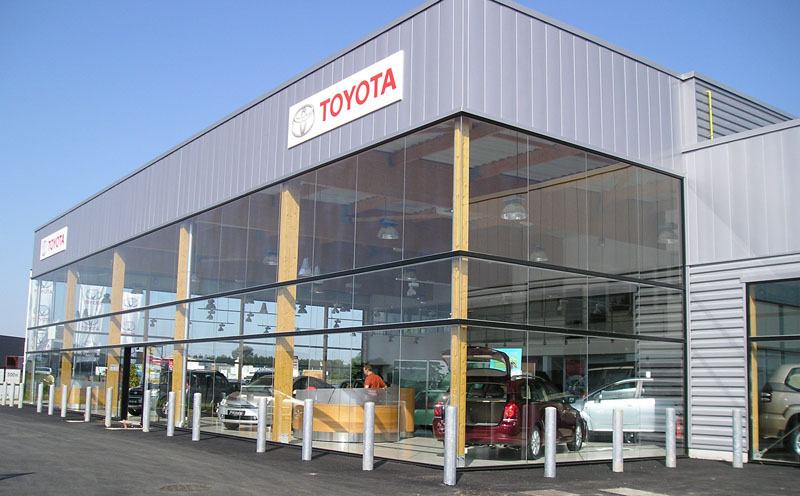 B timents industriels et commerciaux constructions bois for Garage toyota epinal