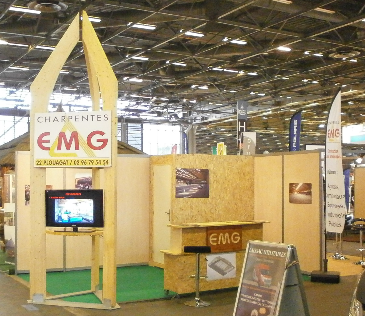 Emg au salon du cheval de paris du 30 novembre au 8 for Salon du bois paris