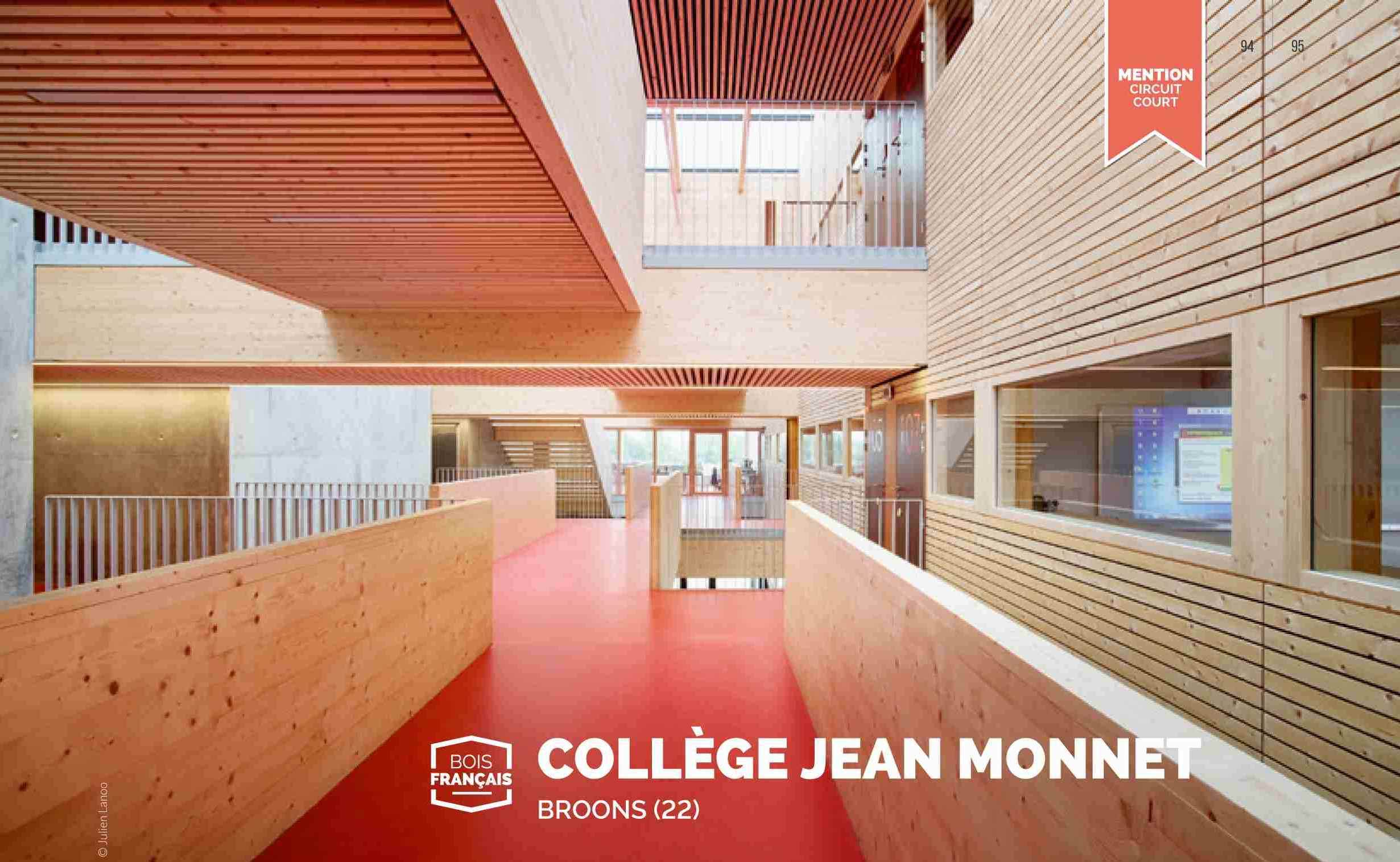 Collège Jean Monnet, BROONS