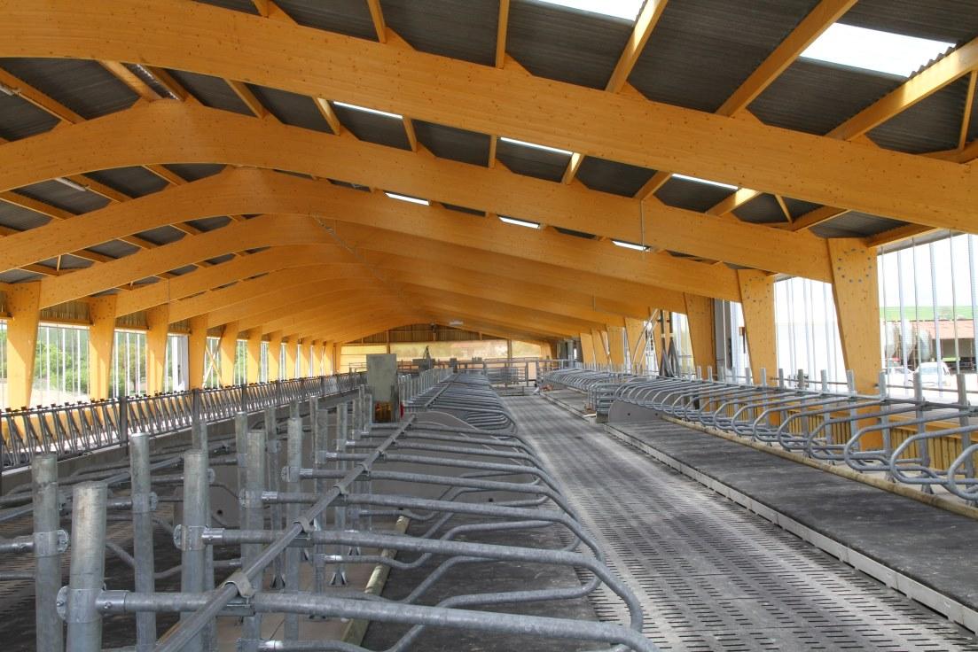 Construction Bâtiments agricoles Intérieur GAEC Missouri